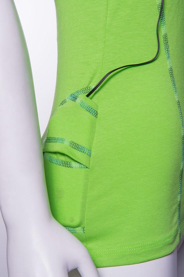 Майка с карманом женская Lola купить в магазине спортивной одежды O3 Ozone