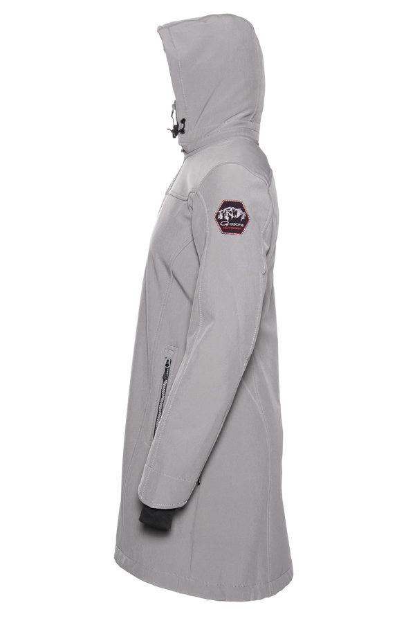 Пальто с флисом Polga из softshell O3 Ozone