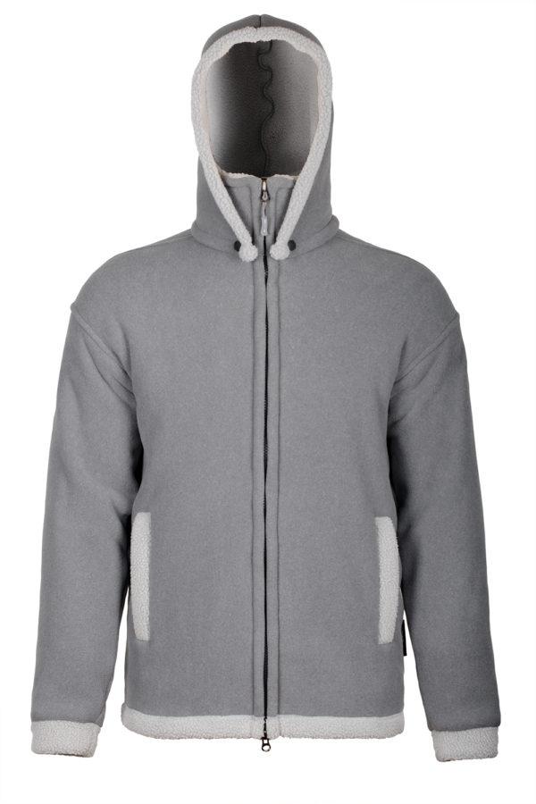 Флисовая куртка с капюшоном Attu Long O3 Ozone
