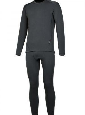 Теплый мужской комплект термобелья Dark купить в интернет-магазине O3 Ozone