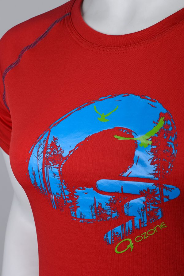 Летняя женская спортивная футболка Iris купить в интернет-магазине спортивного термобелья O3 Ozone