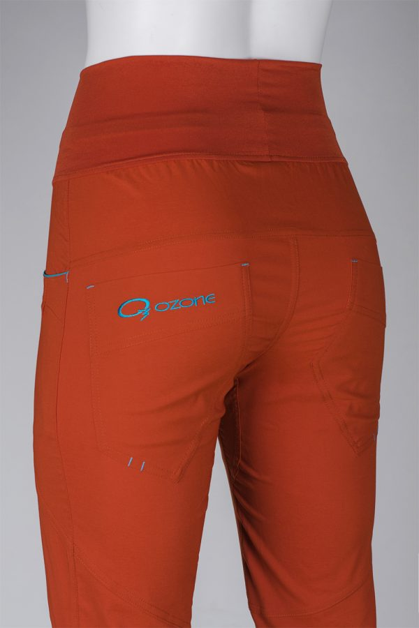 Брюки скалолазные женские 3/4 Ossa купить в магазине брюк для спорта O3 Ozone