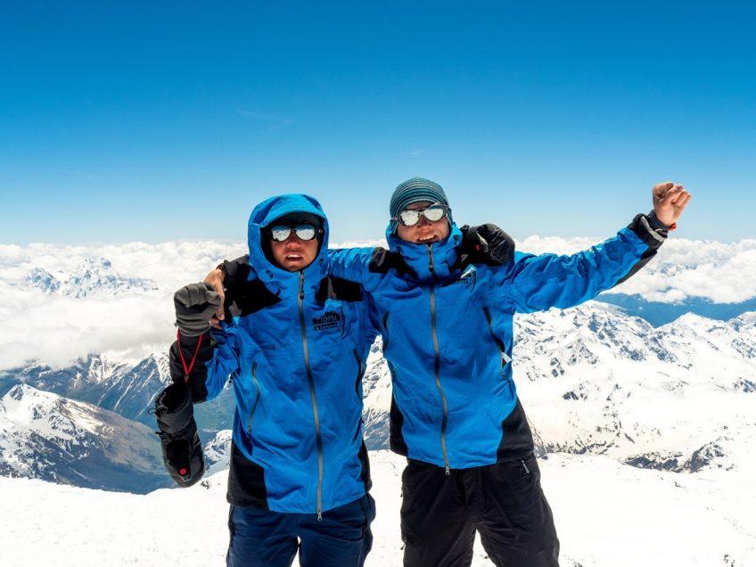 Члены команды O3 Ozone братья Сергей и Евгений Глазуновы участники проекта «Высота»