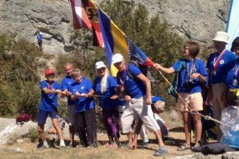 Международный Чемпионат  ветеранов альпинизма и скалолазания  прошел в Судаке 9 – 12 сентября.