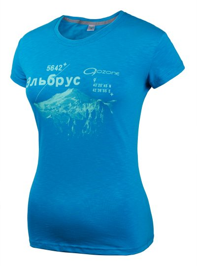 Женская трикотажная футболка Gloss купить в O3 Ozone