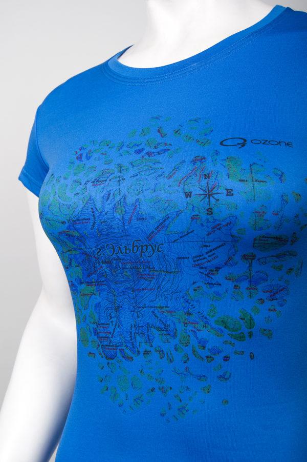 Майка спортивная женская Map купить летнее термобелье O3 Ozone