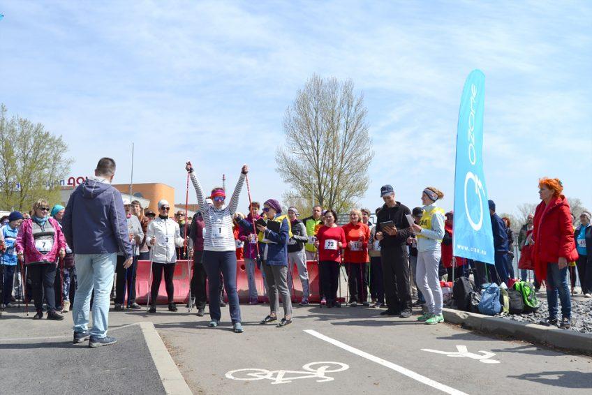 Соревнования по северной ходьбе 22 апреля