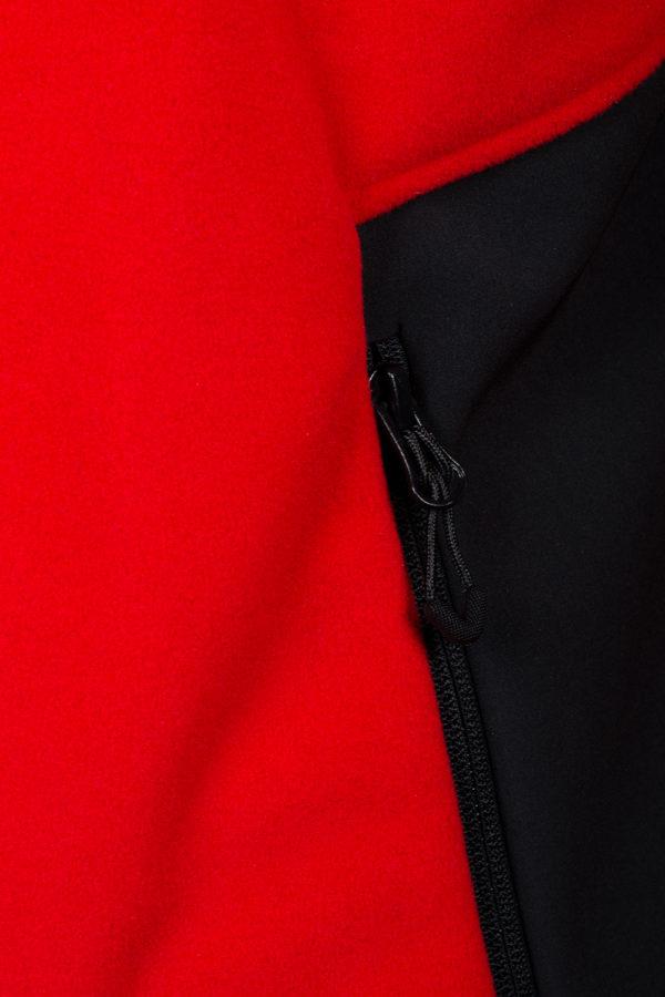 Куртка из непродуваемого флиса First купить в магазине теплых курток O3 Ozone