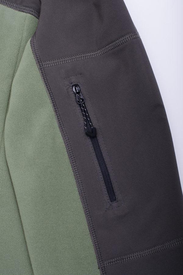 Куртка из полара Ultan для активного отдыха купить в интернет-магазине O3 Ozone